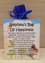 Nephew's Bag of Happiness - Unique Sentimental Novelty Keepsake Gift & Card - $7.78