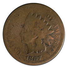 1867 Indian Head Penny / Cent Coin Lot# MZ 2963