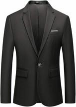 Vchomi Men's 1 Button Slim Fit Blazer - $44.81