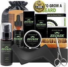 Best 9 in 1 Beard Grooming & Growth Kit w/Beard Oil,Beard Shaping Tool,Beard Was image 2