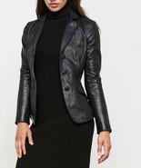 New Women's Pure Lambskin Leather Jacketa Black Blazer Racer Motorcycle ... - $120.27+
