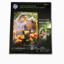 HP Q8723A Everyday Photo Paper Glossy 8-1/2 x 11, 50 Sheet Pack, New! - $19.79