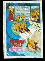 New Titans #74-DC Color Guides Prod. Art - $272.81