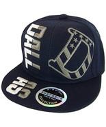 Dallas Raised Text Adjustable Snapback Baseball Cap (Navy) - $11.95