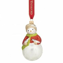 Waterford Holiday Heirlooms 2015 Lismore Lauren Pearl Snowman Ornament #... - $54.70