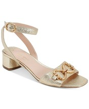 kate spade new york Lagoon Heart Chain Sandals Size 8 - $89.09