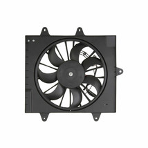 RADIATOR A/C SINGLE FAN ASSEMBLY CH3115156 FOR 06 07 08 09 PT CRUISER W/TURBO image 2