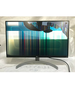 """LG 27UK600-W 27"""" 4K UltraHD IPS Monitor For Parts - AS IS - $108.90"""
