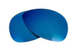 Replacement Lenses for Oakley Plaintiff Sunglasses Anti-Scratch Blue Mirror - $9.89
