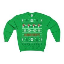 motorcycle biker braaap christmas ugly sweatshirt xmas - $29.95+
