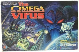 The Omega Virus 1992 MB Electronic Talking Board Game Tested 100% Complete - $112.19