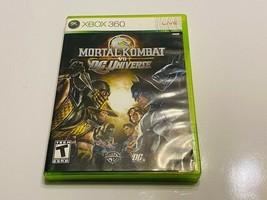 Microsoft XBOX 360 - Mortal Kombat vs DC Universe - $10.00