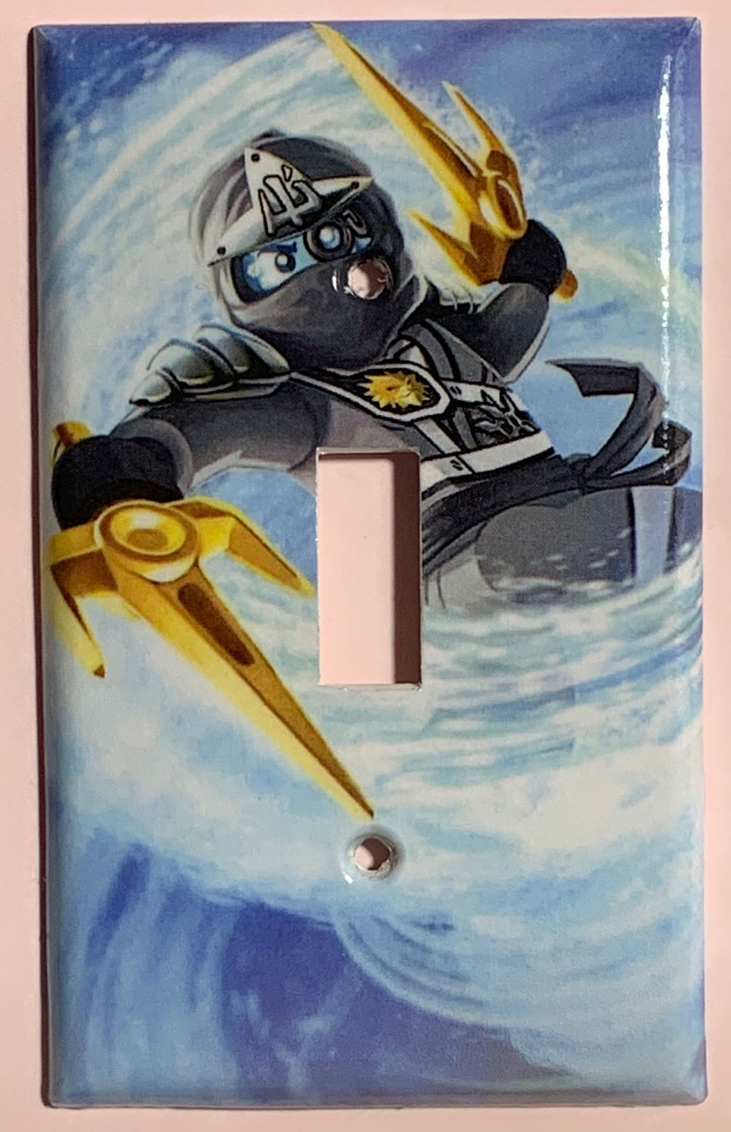 Ninjago ZANE Light Switch Outlet duplex wall Cover Plate Home Decor
