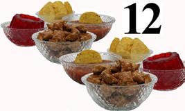 Glass Bowls Set of 12 Serving Salad Fruit Desserts and Party (Dishwasher... - £17.78 GBP