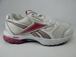 Reebok Doble Hall Talla 6M (B) Eu 36 Mujer Zapatillas para Correr Blanco Rosa - $32.21