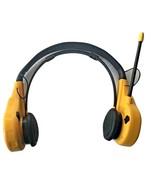 VTG Vintage Yellow Optimus AM FM Radio Headphones - TESTED and WORKS! - $99.99