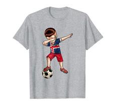Dad Shirts - Dabbing Soccer Boy Iceland Jersey Shirt - Football Tee Gift Men - $19.95+