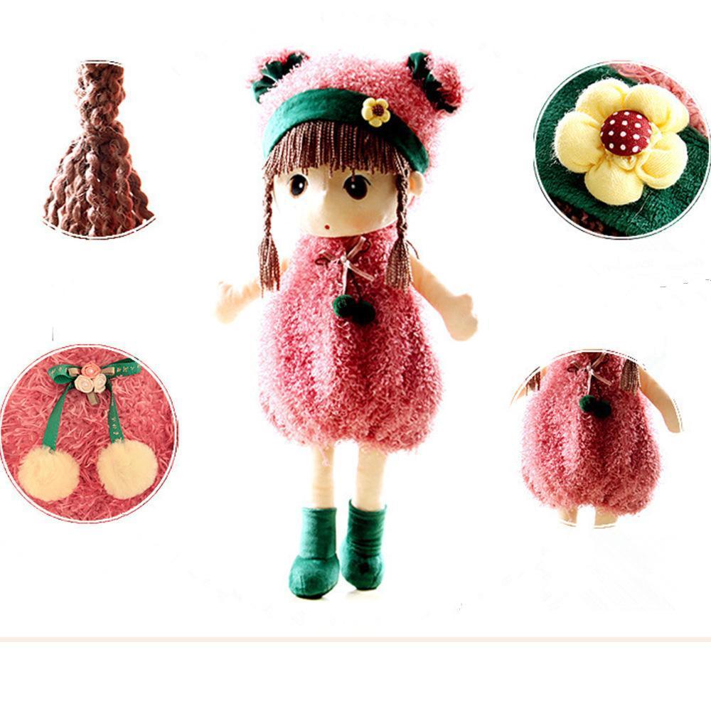 Metoo 40cm Large Cartoon Doll Mayfair Stuffed Plush Toy Wedding Rag Doll Christm