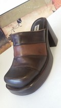 GUC Retro Sandals Brown 6 Madden Vtg Platforms Grunge 5 Shoes Steve Multi Chunky 6XU7Uxa
