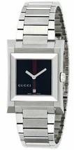 Gucci YA111402 Black Dial Boys Watch 111 GRG BK J Stainless Steel FREE Ship - $647.20