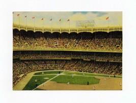 "FDC POSTCARD-""YANKEE STADIUM""-BASEBALL'S LENGENDARY FIELDS-2001  ARTCRAF... - $1.96"