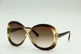 TOM FORD TF 226 47F MARGOT BROWN GRADIENT SUNGLASSES AUTHENTIC 63-5 W/CASE - £167.03 GBP
