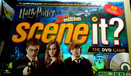 Harry Potter Scene It DVD 2nd Edition Board Game - $16.00