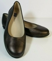 SAS Women's Scenic Ballet Flats Shoes Size 8.5 Brown Copper Leather Slip On  - $29.69