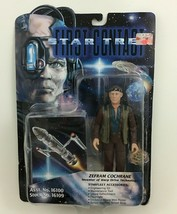 "Zefram Cochrane Star Trek 5.5"" Figure First Contact Sealed Playmates Toy... - $9.75"