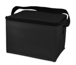 EasyLunchboxes Insulated Lunch Box Cooler Bag, Black - $6.00