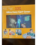 Bright Starts Ultra Cozy Shopping Cart or High Chair Cover, Animal Patte... - $17.72
