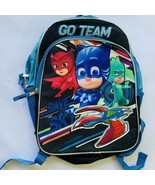 "PJ Masks Backpack Full Size 16"" Kids Sky Team Owlette Gecko Cat Boy - $21.77"