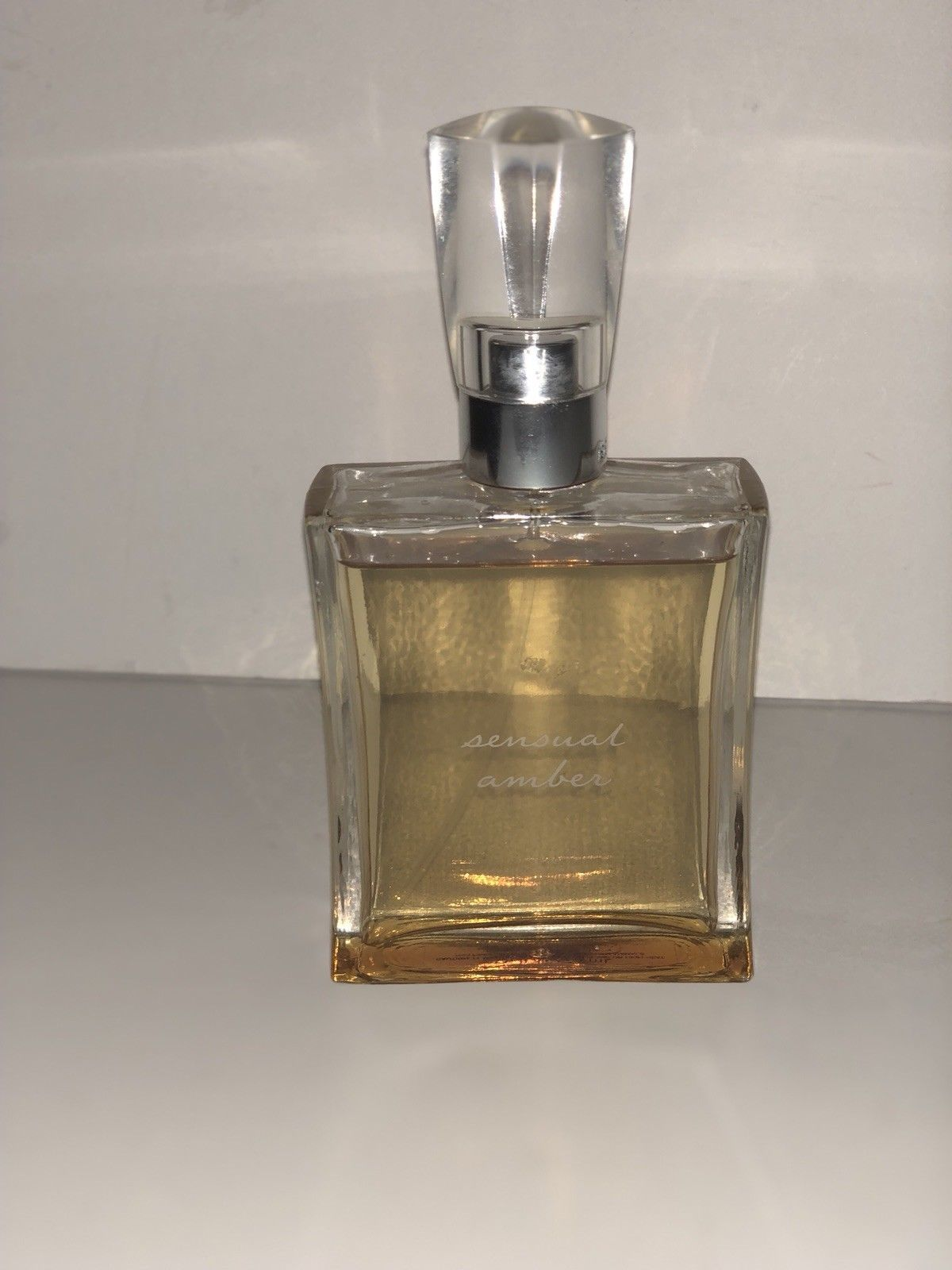 Bath & Body Works Sensual Amber * Eau de Toilette Perfume 2.5 FL OZ  3/4 FULL