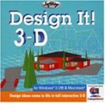 Design It 3-D (Jewel Case) - $4.99