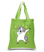 100% Cotton Reusable Grocery Shopping Unicorn Dab -more style n listings - $9.50