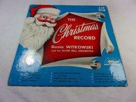 The Christmas Record - Bernie Witkowski & Silver Bell Orchestra - Stella... - $33.74