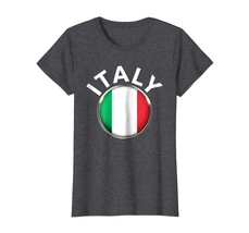 Tee shirts -  Italian National Country Flag Tee Italy Shirt ITALIA T-shirt Wowen - $19.95+