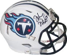 Marcus Mariota signed Tennessee Titans Riddell Speed Mini Helmet #8- Mariota Hol - $74.95