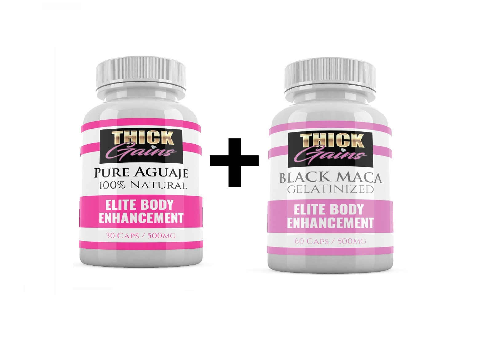 Primary image for Natural Butt Enhancement Pills Maca and Aguaje bundle combo booty queen GAINS