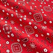 Richland Textiles Bandana Prints Red Fabric by The Yard image 2