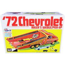 Skill 2 Model Kit 1972 Chevrolet Pickup Truck Racer\'s Wedge 2-in-1 Kit ... - $60.94
