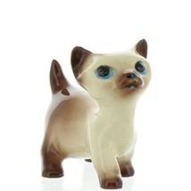 Hagen Renaker Miniature Cat Siamese Large Kitten Walking Ceramic Figurine - $14.29