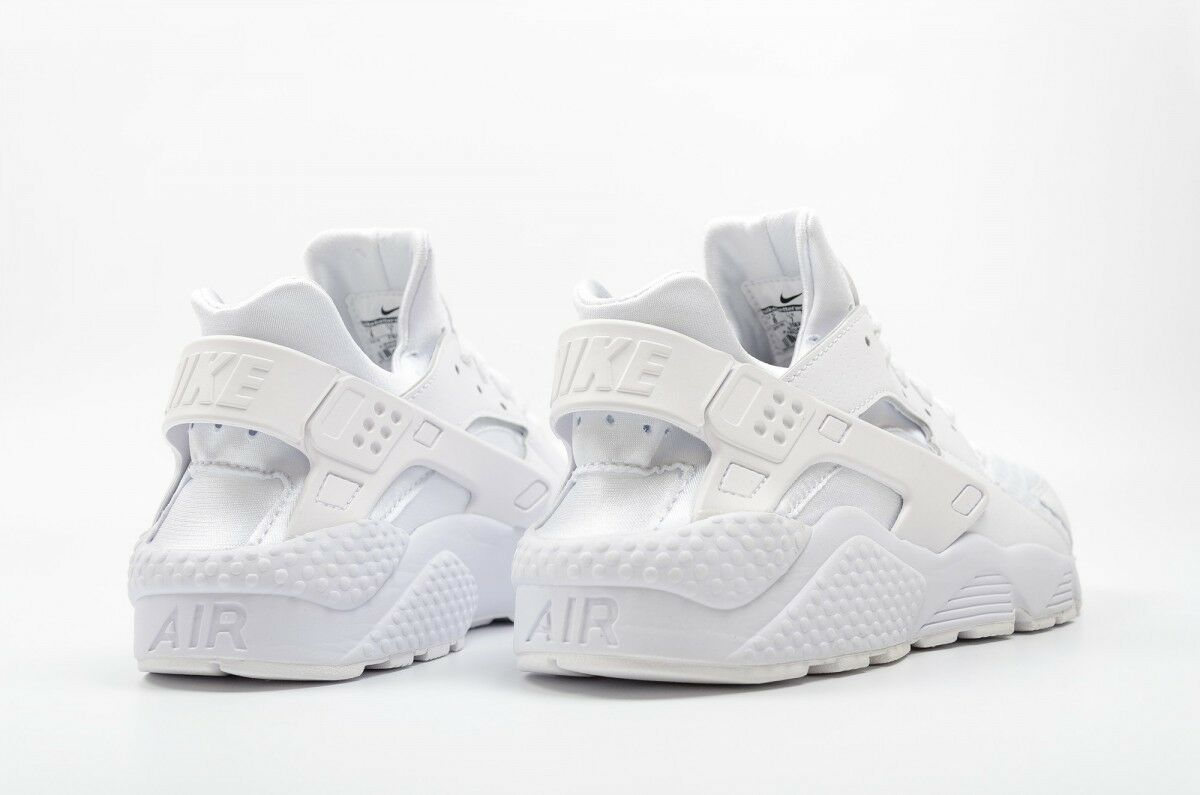 New Nike Air Huarache Triple White 318429-111 Shoes Men