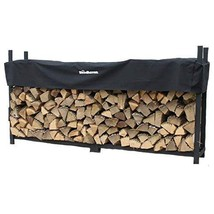 Woodhaven 8 Foot Firewood Rack w Standard Cover - $269.71