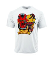 Night Thrasher Dri Fit graphic T-shirt moisture wick superhero comic Sun Shirt image 2