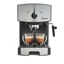 Capresso Stainless Steel Espresso/Cappuccino Machine - EC50 117.05 - $145.05