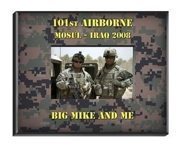 Personalized Military Camouflage Frame - $28.90