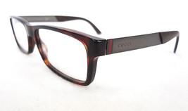 GUCCI Men's Frame Glasses GG1054 53-16-145 Havana MADE IN ITALY - New! - $199.95