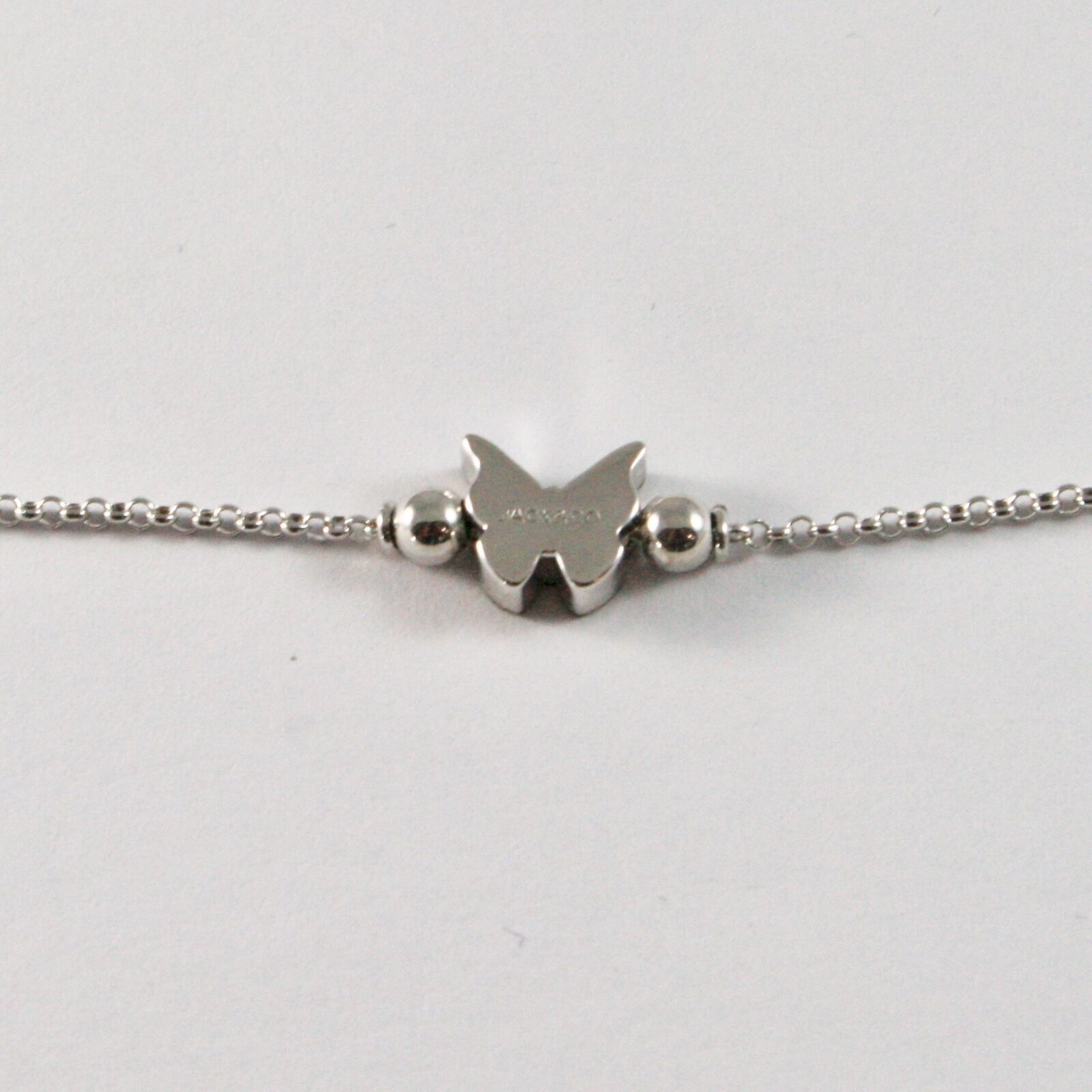 Silber Armband 925 Jack&co mit Schmetterling Stilisiert Zirkonia Cubic JCB0886 image 3