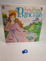 Pretty Pretty Princess Jewelry Board Game 1999 PARTS/REPLACEMENT blue ring - $3.40